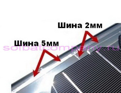 Медная шина для пайки солнечных элементов 0.2*5мм