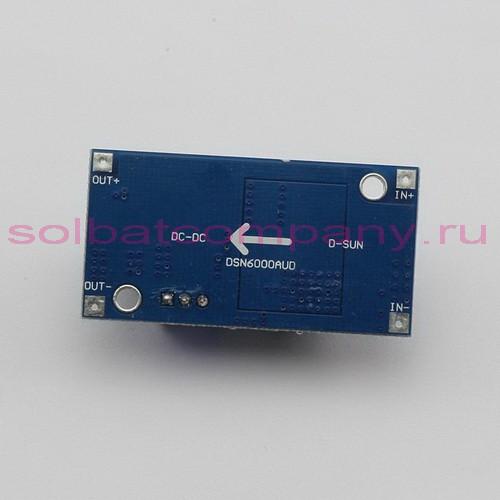 XL6009 импульсный повышающий - понижающий преобразователь напряжения