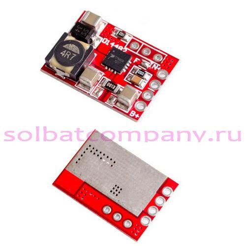 TP5000 модуль зарядного устройства Li-Ion LiFePO4 аккумуляторов 2A