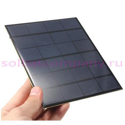 Солнечная панель 5V 700mA 3.5W USB водонепроницаемая, ударопрочная