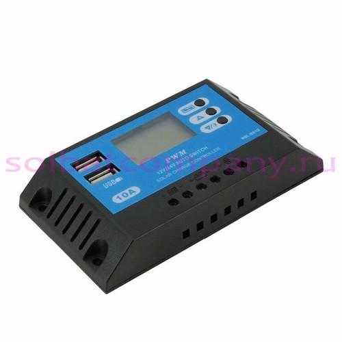 Контроллер заряда PWM RBL-8810 12-24V 10А 2USB