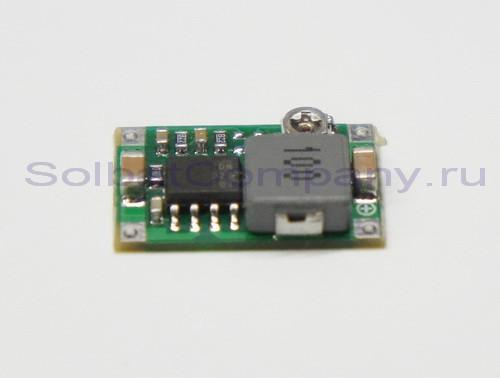 Понижающий регулируемый преобразователь MP2307 4.75-23V 0.92-20V 3А